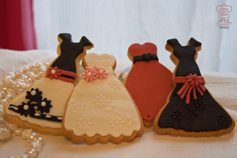 Cookies vestidos