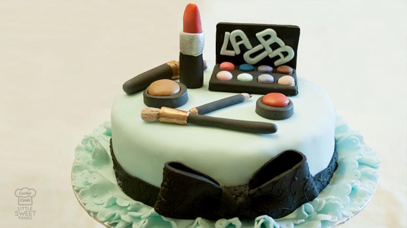 Tarta Maquillaje